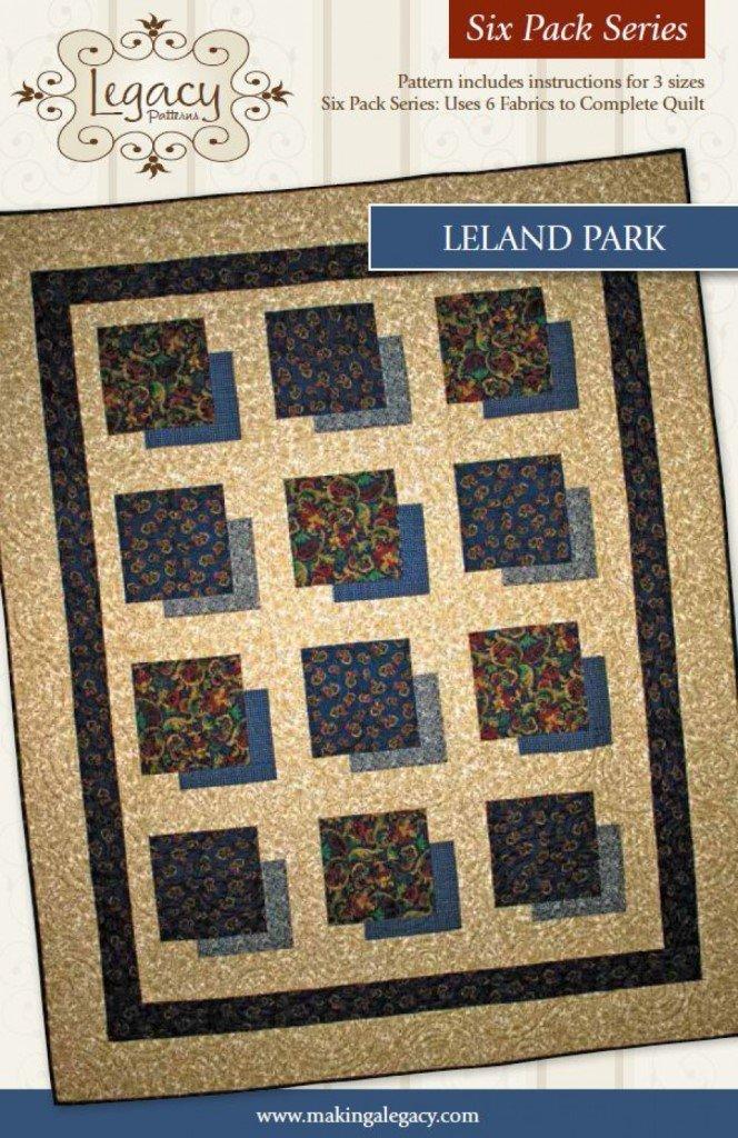 Leland Park-Six Pack Series - Legacy Patterns  - LEG9603