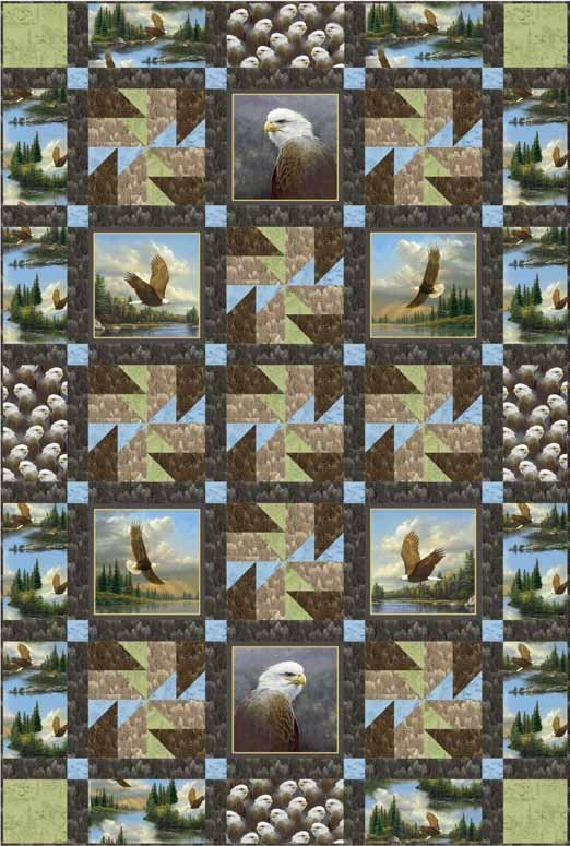 QT - Majestic Eagles Pattern Download - FREE
