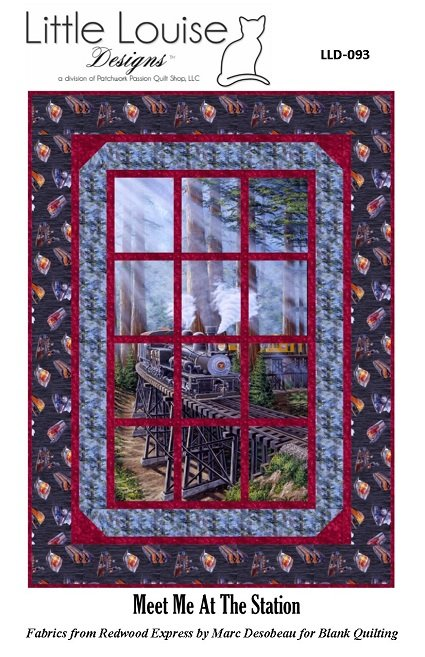 Meet Me At The Station - Little Louise Designs - LLD-093