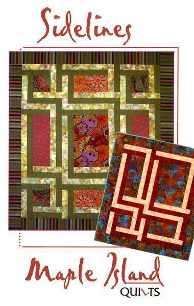 Sidelines - Maple Island Quilts - MIQ154