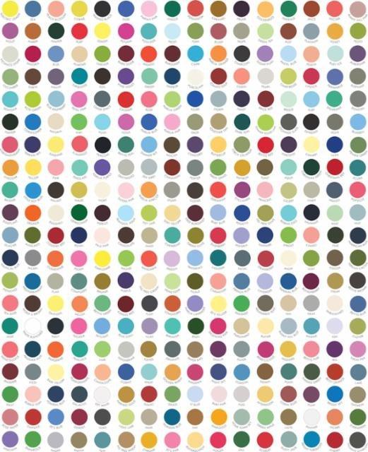 Moda - My Favorite Color is Moda/Multi - DOTS - 9900 10