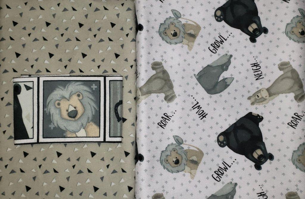 Moondance - Furr-Ever Friends FLANNEL Quilt KIT - Villa Rosa Designs - 40x50
