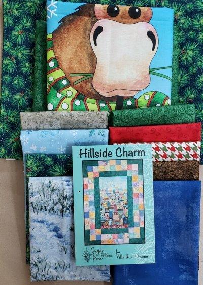 Hillside Charm - Villa Rosa QUILT KIT - Northwood Neighbor - 50 x 68