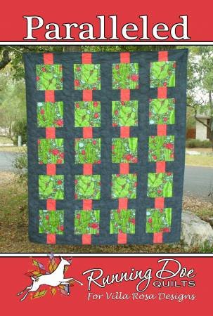 Paralleled-Villa Rosa QUILT KIT - Diaphanous - 62 x 77