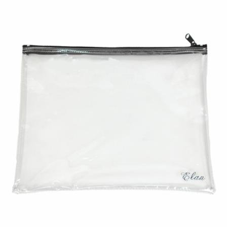 Project Bag-Clear w/ Zipper-14 x 12  - Elan - PB12