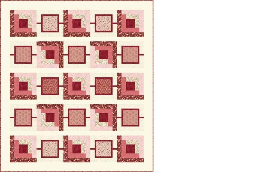 QT - Petal/Matrix Quilt-FREE Download