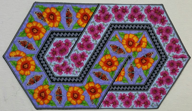 Triangle Frenzy Swirl - KIT - Prairie Gate