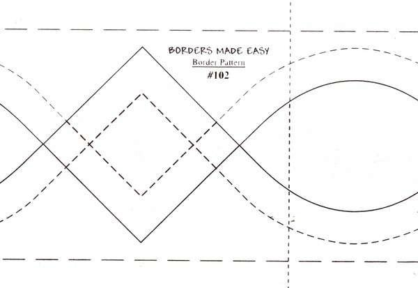 Borders Made Easy 3in x 26' - Quilting Made Easy-102