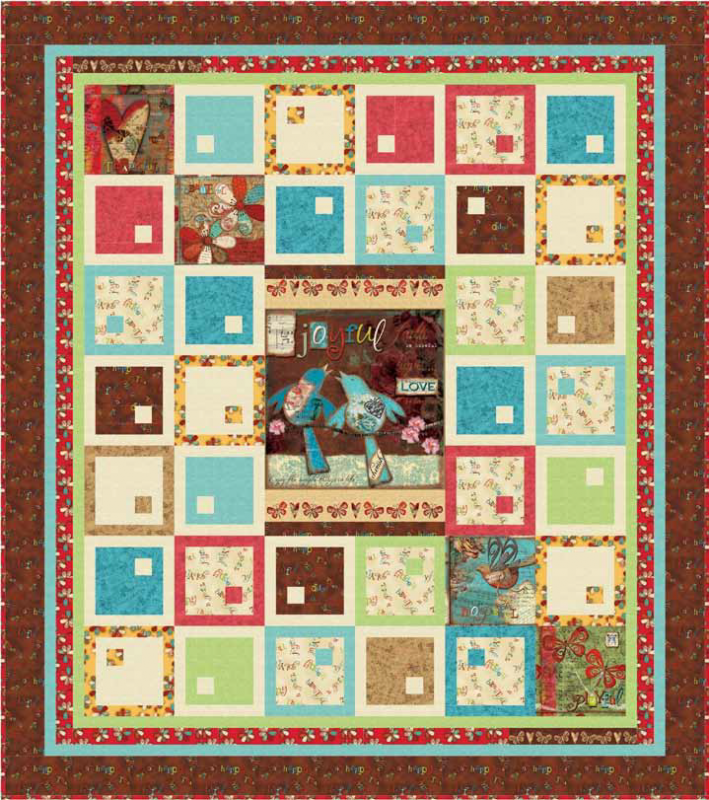Quilting Treasures-Song of Joy-Project Sheet - FREE