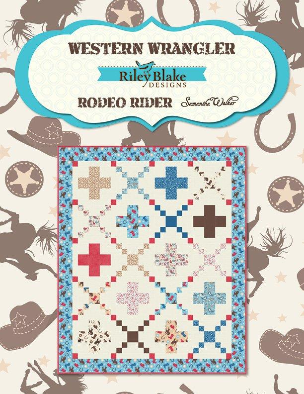 Riley Blake - Western Wrangler Free Project Sheet