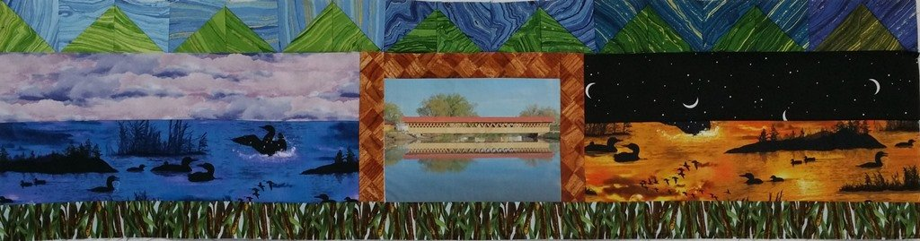 2015 Row by Row Covered Bridge PATTERN Only