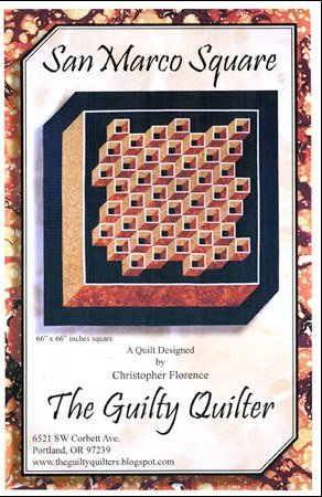 San Marco Square - The Guilty Quilter - GQU01