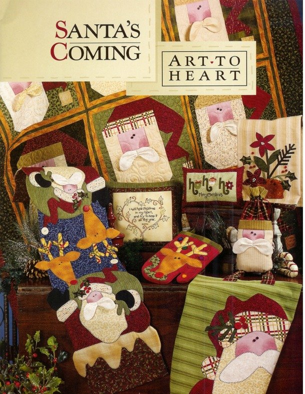 Santa's Coming - Art to Heart - 528B
