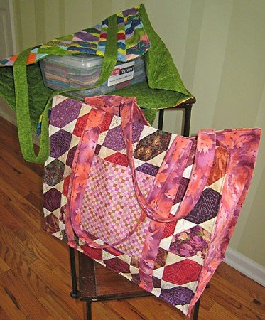 Scrap Sack Pattern - Scrap Therapy - ST206