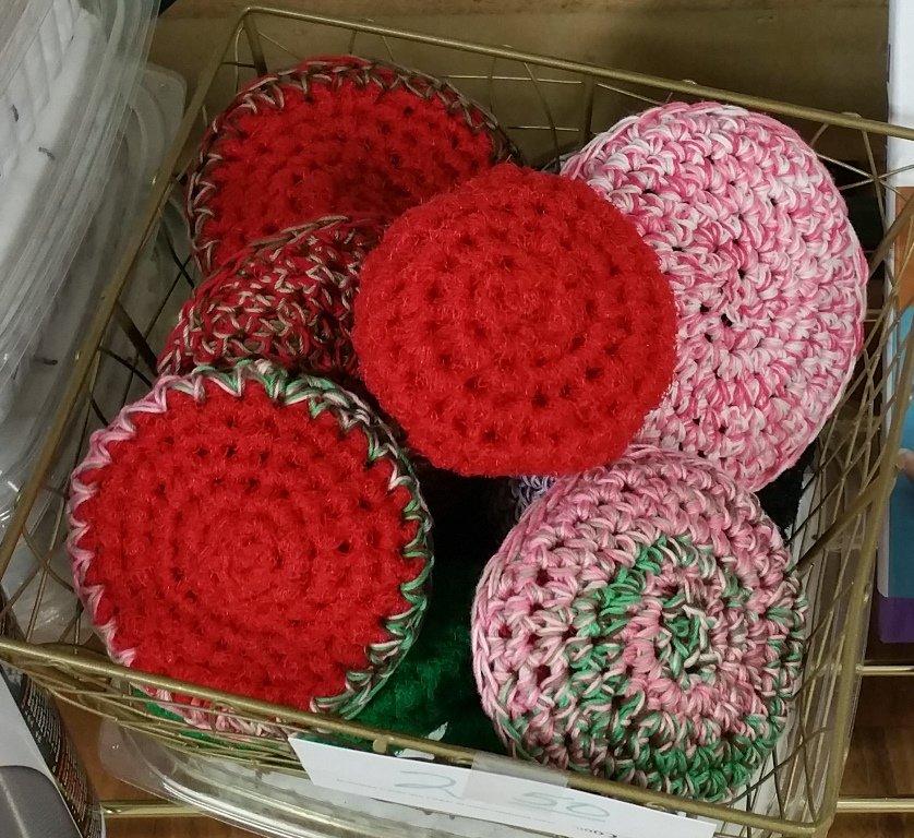 Scrubbies - Kitchen Nylon - Handmade Locally