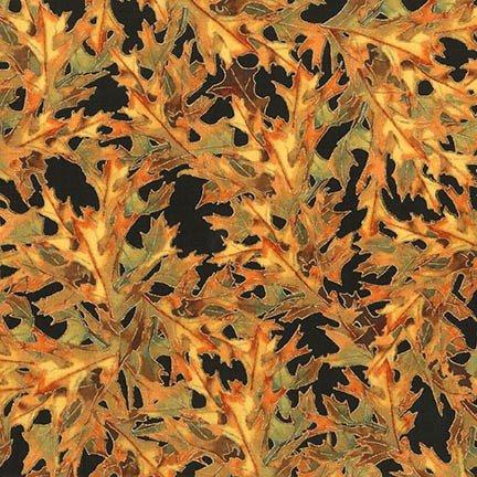 Robert Kaufman - Shades of the Season 11 - Fall Foliage/BLK - 17450-2