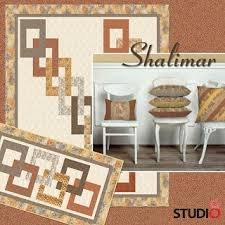 Shalimar Table Runner Pattern