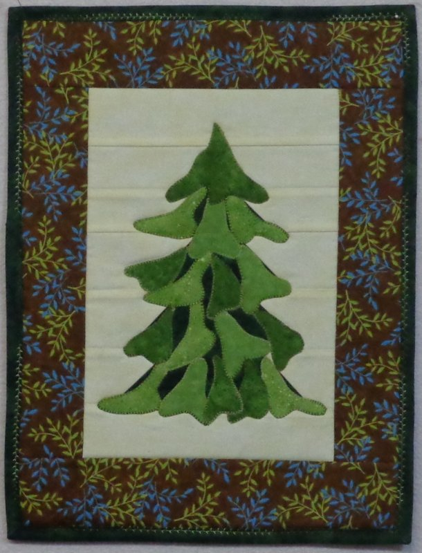 Evergreen-Snap Sack Small Quilt Kit-SS-1312-12