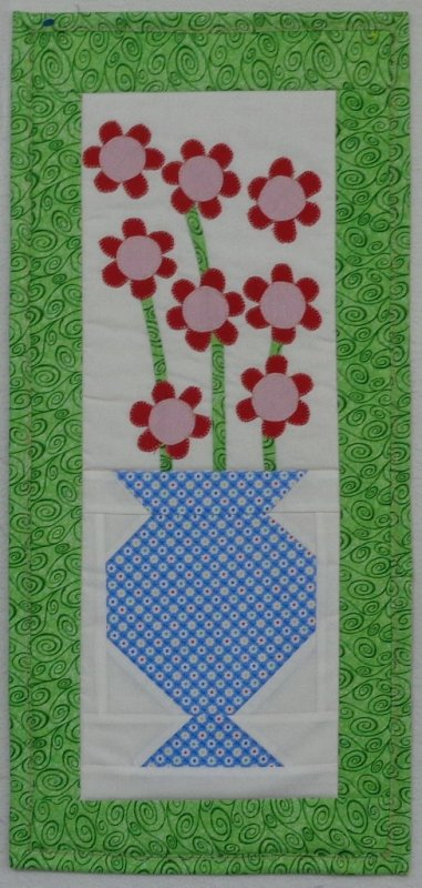 Posh Posies-Snap Sack Small Quilt Kit-SS-1002-12