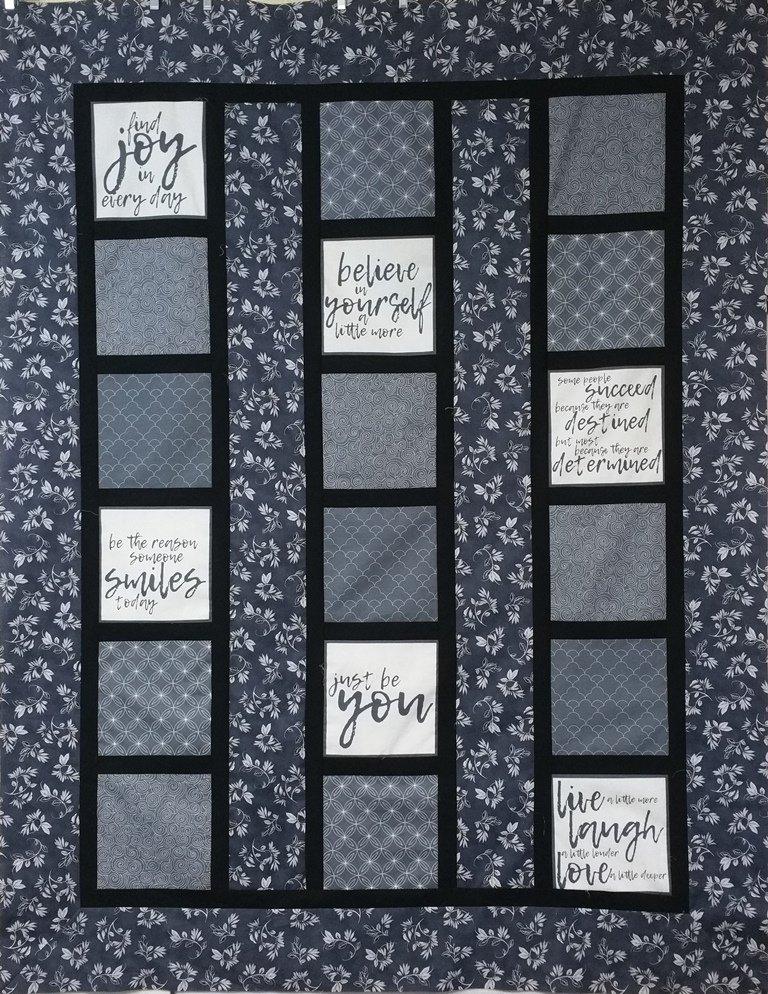 Thrive - Line Dance - Quilt Kit - 60 x 76