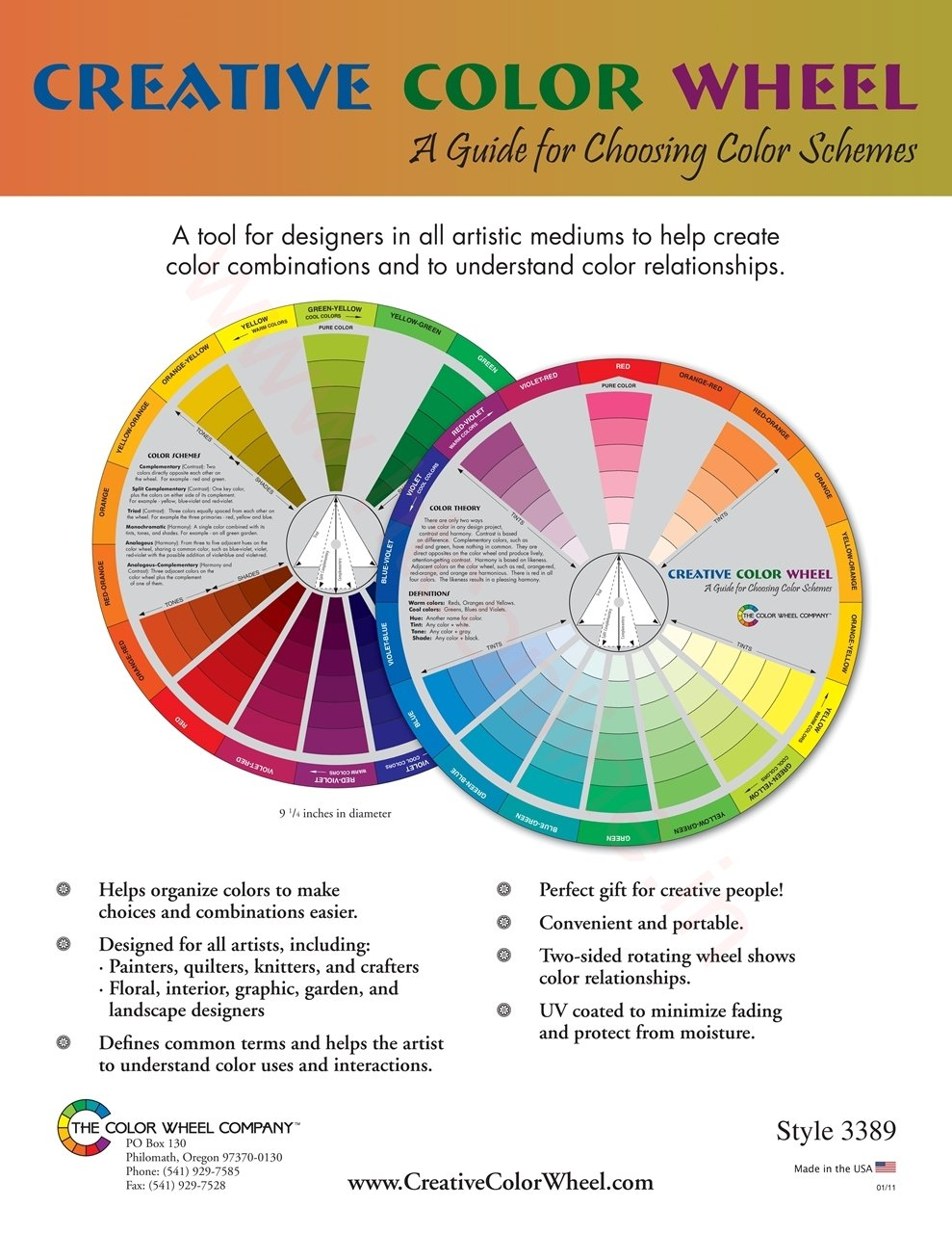 Creative Color Wheel-The Color Wheel Co. - 3389