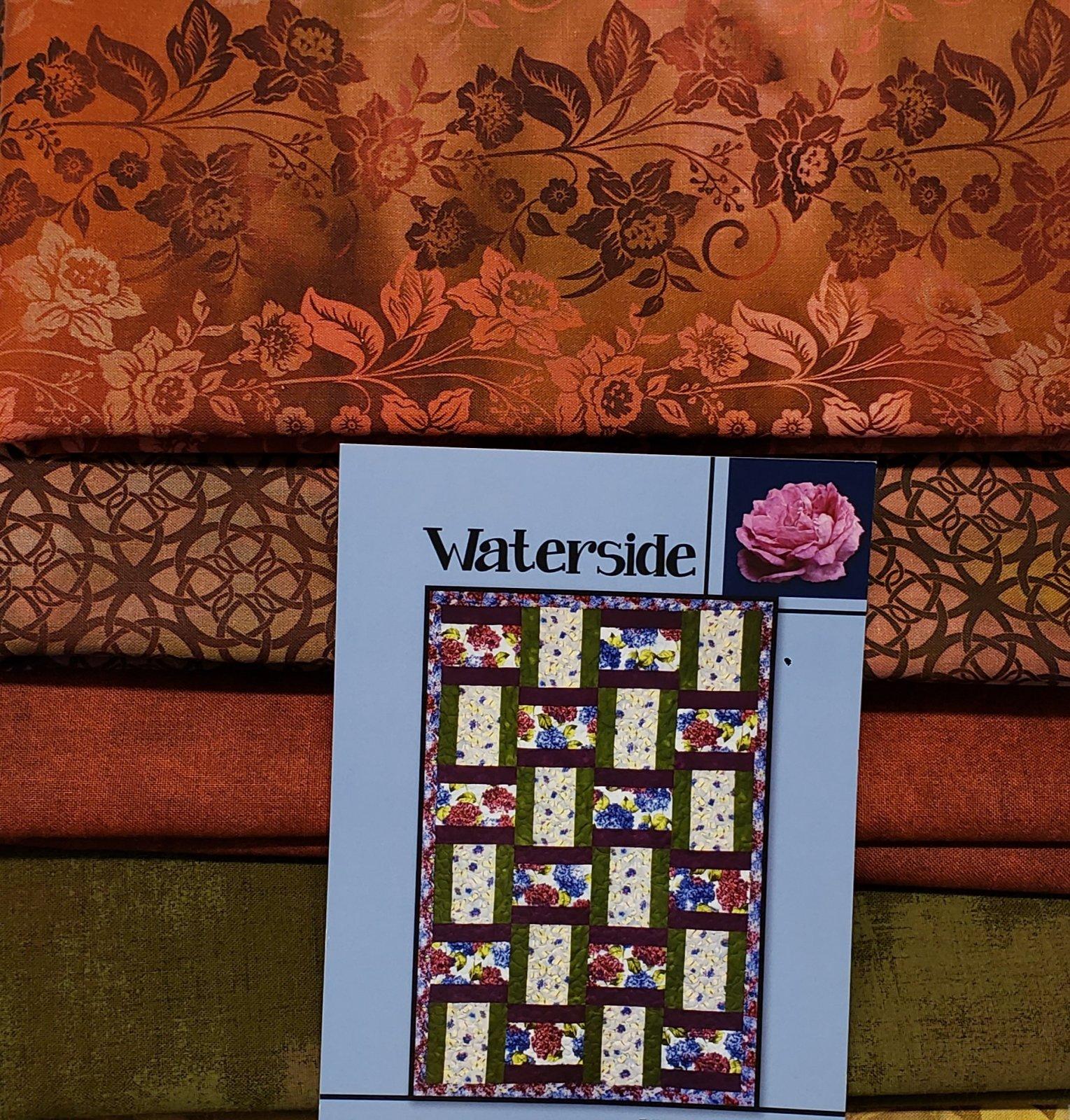 Waterside Villa Rosa QUILT KIT - Diaphanous - 43 x 62 - Theme