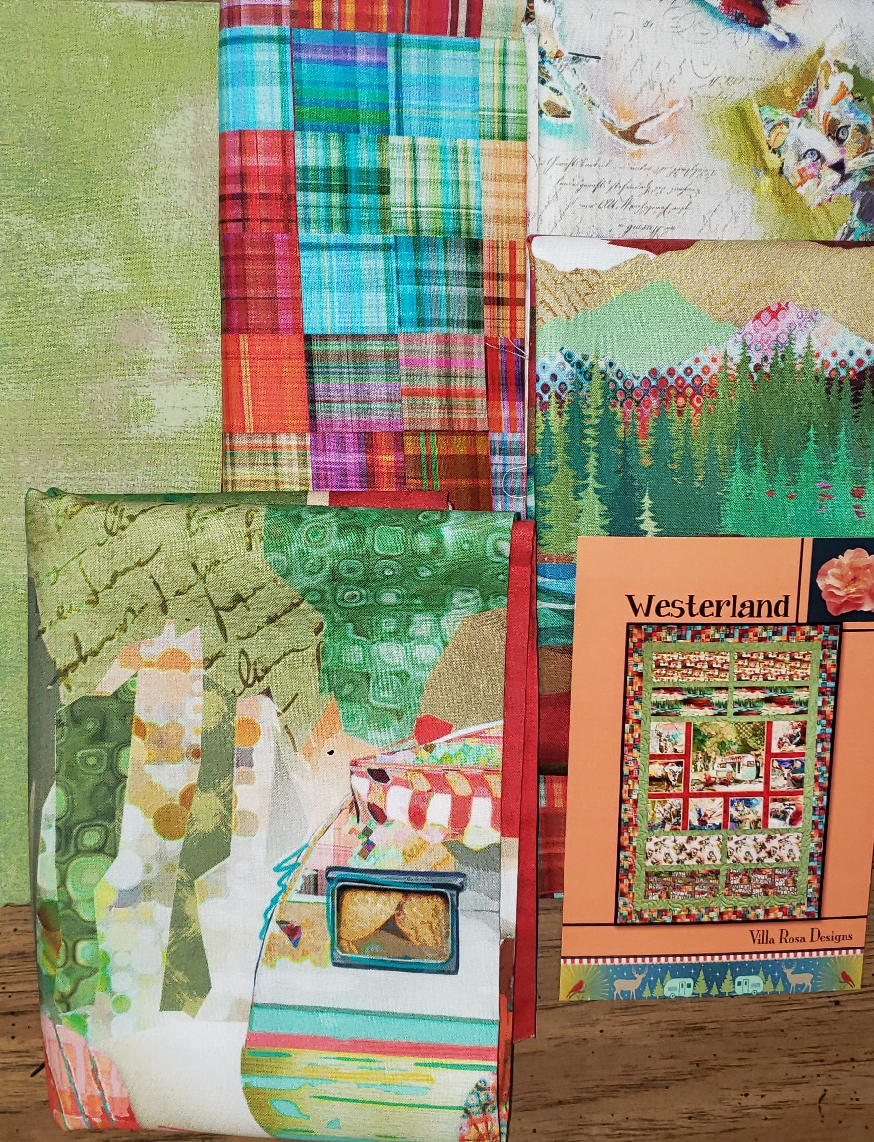 Westerland - The Great Outdoors - Quilt KIT - Villa Rosa/3Wishes