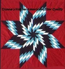 Whirlwind Star Quilt-Diane's Native American Star Quilts : native american star quilt - Adamdwight.com