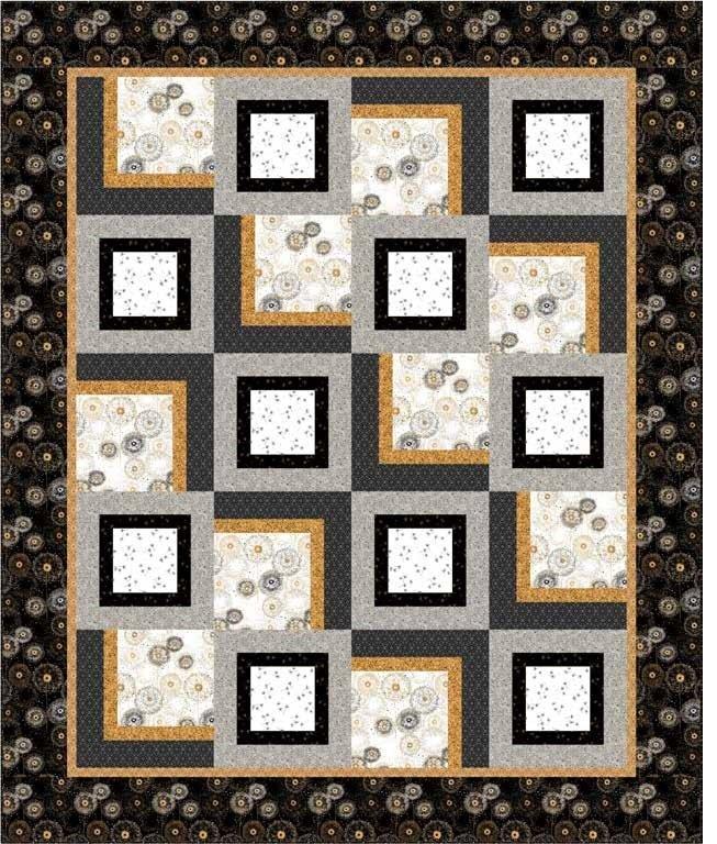 Whisper Quilt KIT - QT Fabrics - 77 x 92