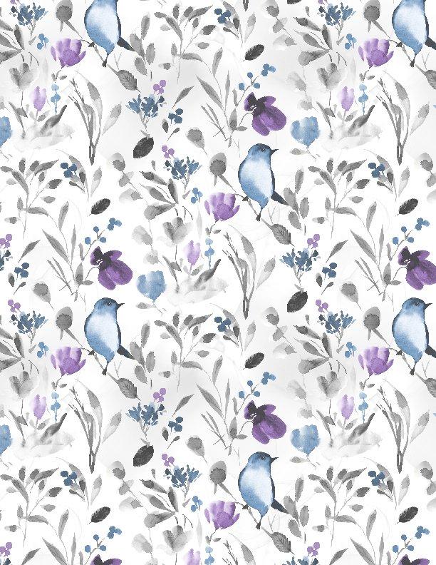 Wilmington - Awakenings-Bluebirds & Branches/White - 13404-194