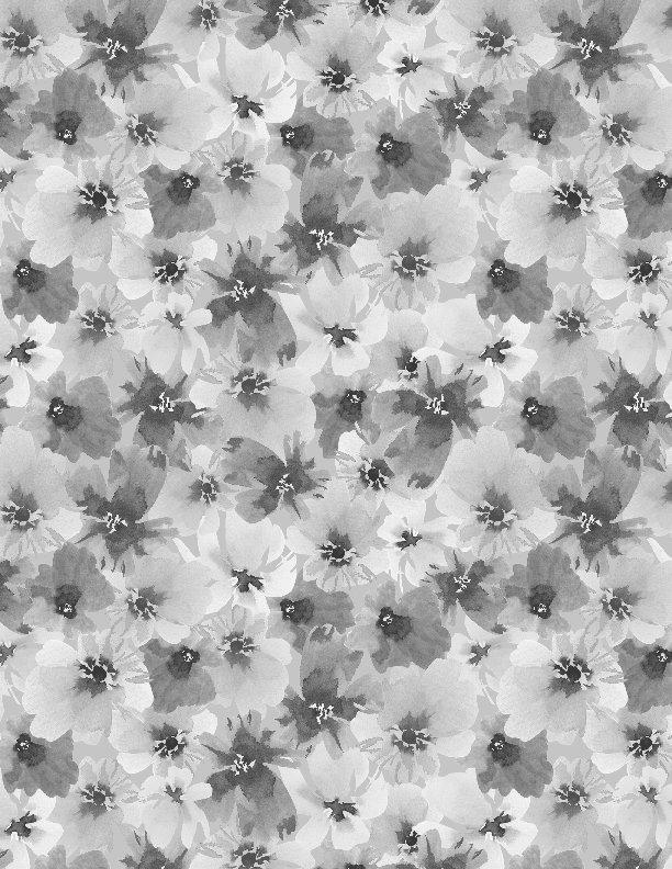 Wilmington - Awakenings-Packed Floral Allover/Grey - 13403-919