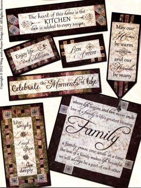 Heartfelt Celebration of the Home - Wing & A Prayer - WP 140