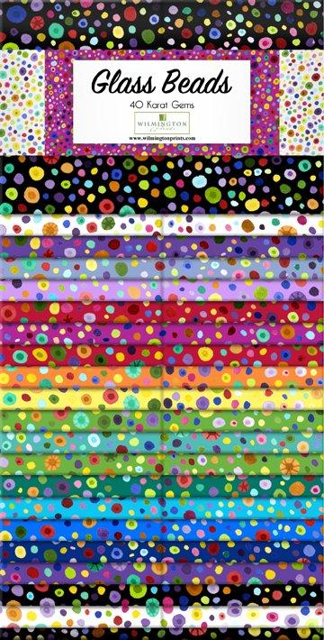 Wilmington - Glass Beads - 40 Karat Gems 2.5 Strips - 842-78-842
