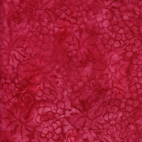 Island Batik Cherry Berry Collection - Grapes Hot Pink