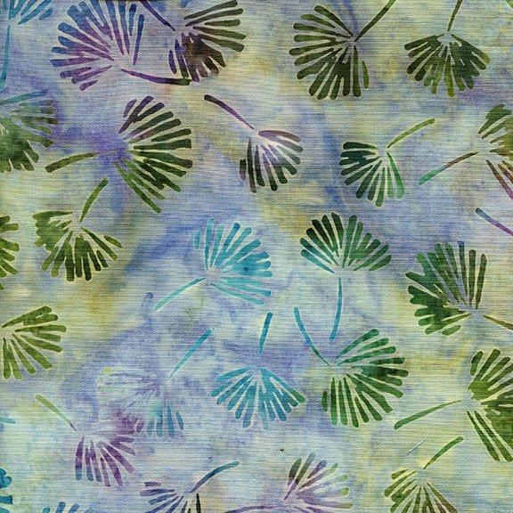 Island Batik Vineyard Collection - Ginko Leaf Opal