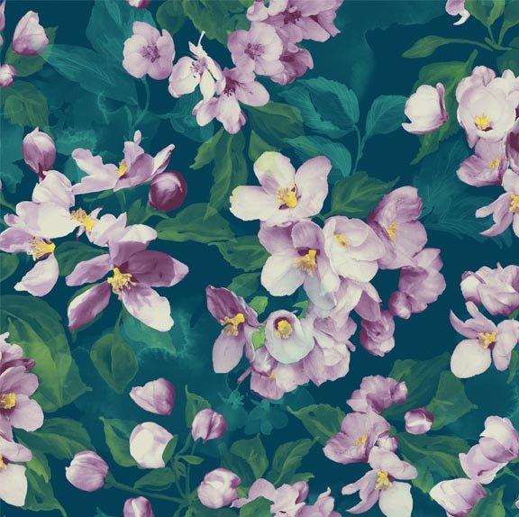 Northcott Mystic Garden Multi Floral - 21062-65