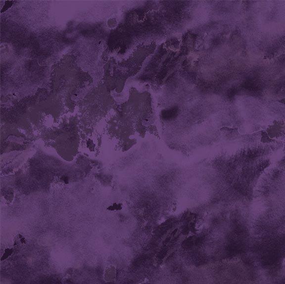 Remnant - 1/2 yd - Northcott Mystic Garden Purple Mottle - 21065-85