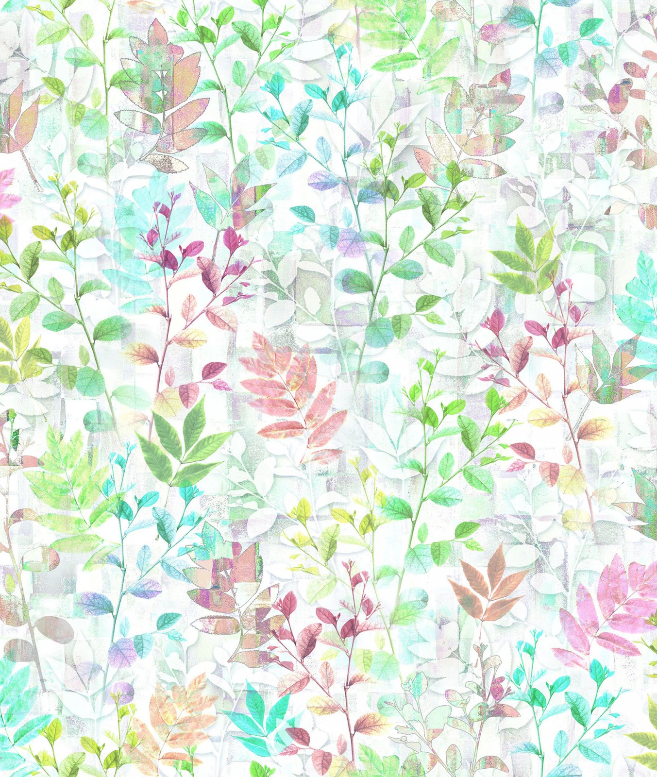 RJR Digital Fabric - Luminous Leaves - 3273-001