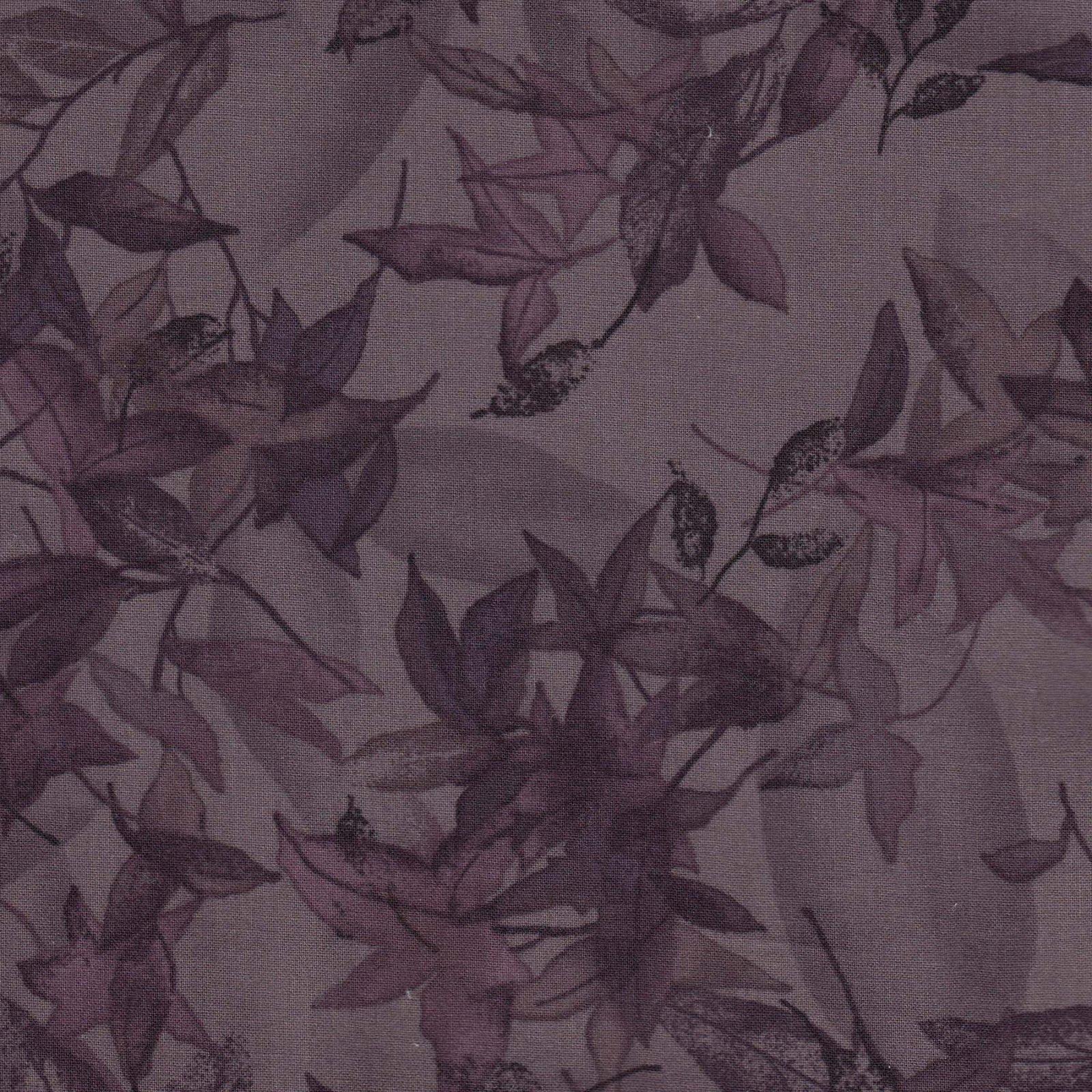 Remnant - 1 yard cut - Daiwabo Violet Floral