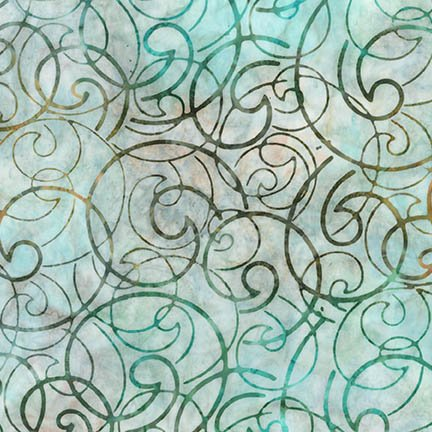 Robert Kaufman Artisan Batiks Regal 3 Meadow String - AMD-16825-270