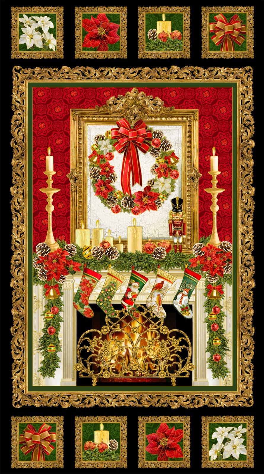 Timeless Christmas Panel