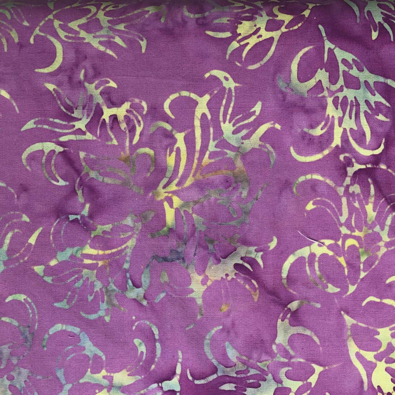 Majestic Batik - Violet Print