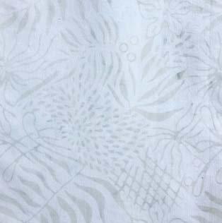 Majestik Batik - White Leave Batik
