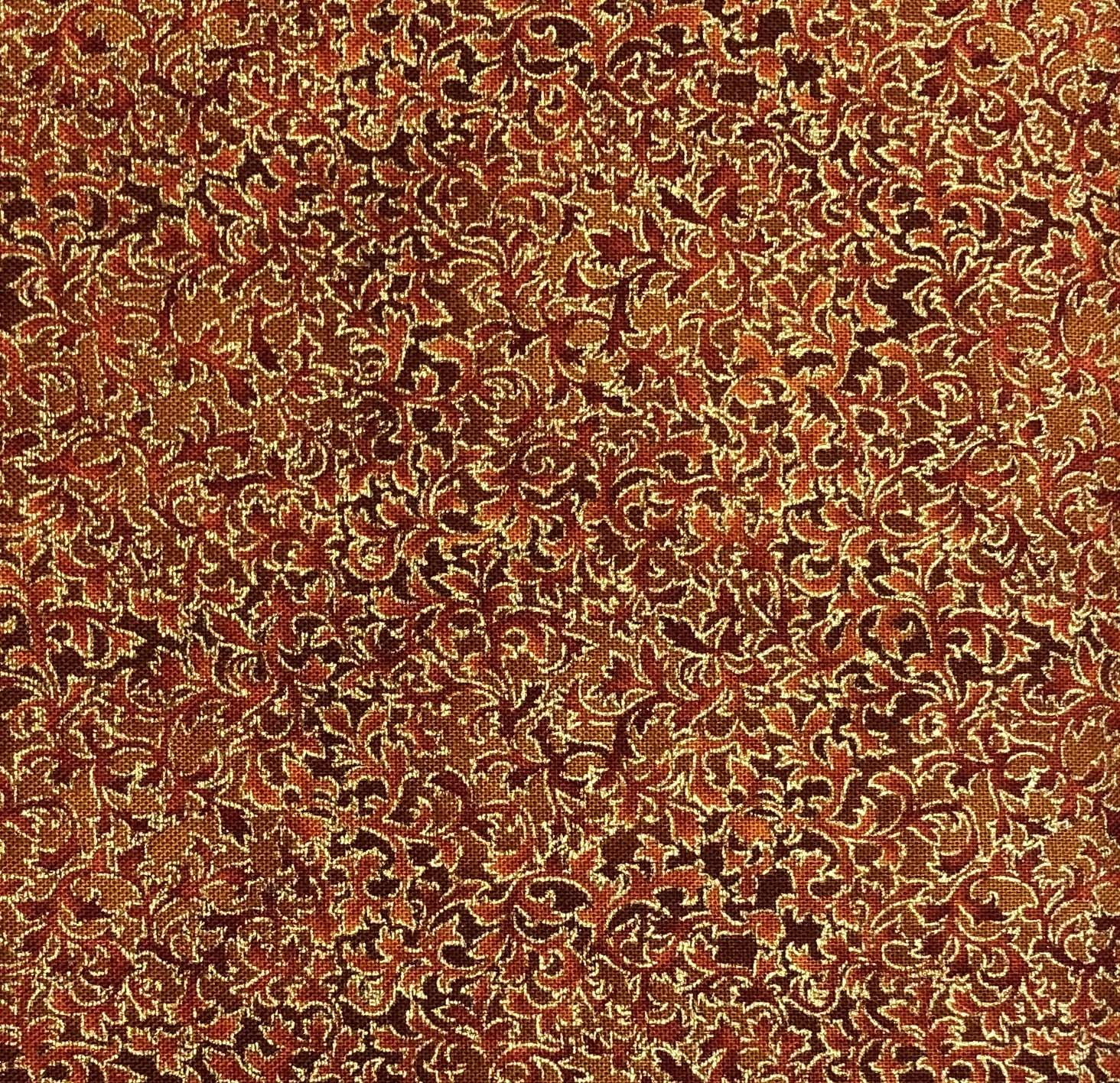 Robert Kaufman - Fusions Metallic - EYJM-6644-163 Spice