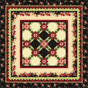 Midnight Garden Quilt Pattern