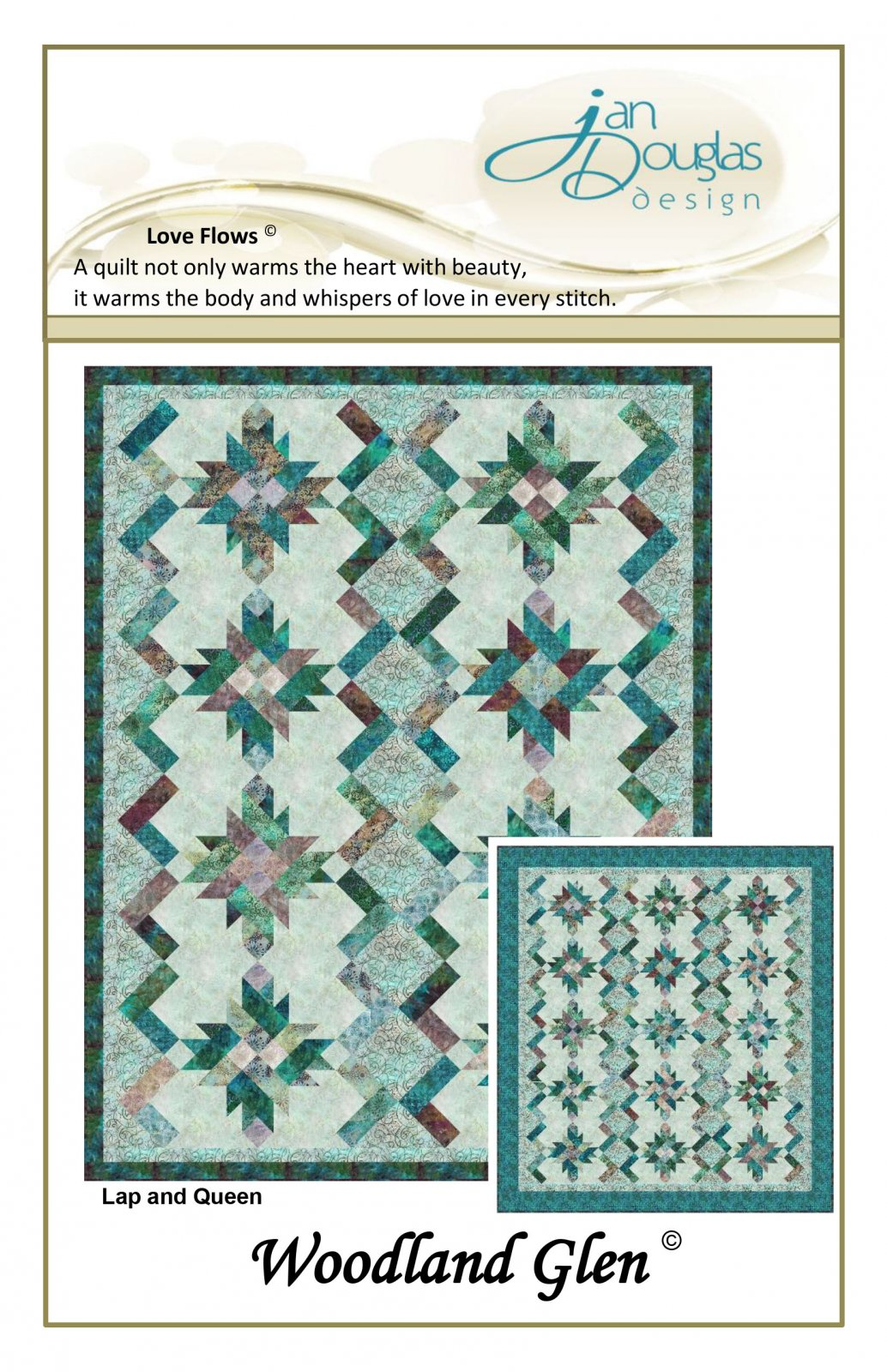 Woodland Glen Pattern (Kit Available)