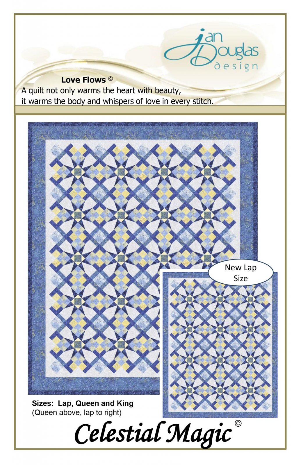Celestial Magic Pattern - Including New Lap Size