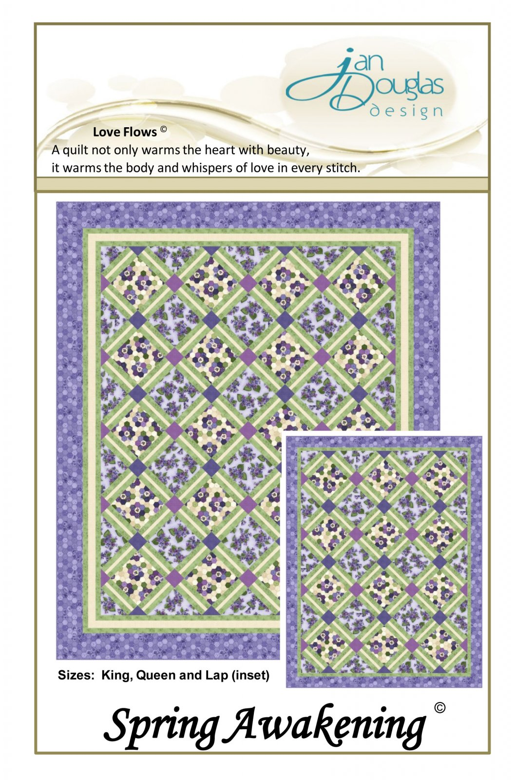 Spring Awakening Pattern - Multiple Sizes