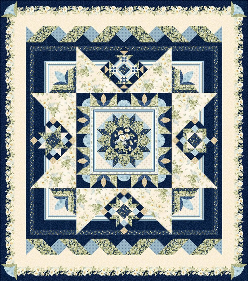 Moonlight Serenade Block of the Month Pattern