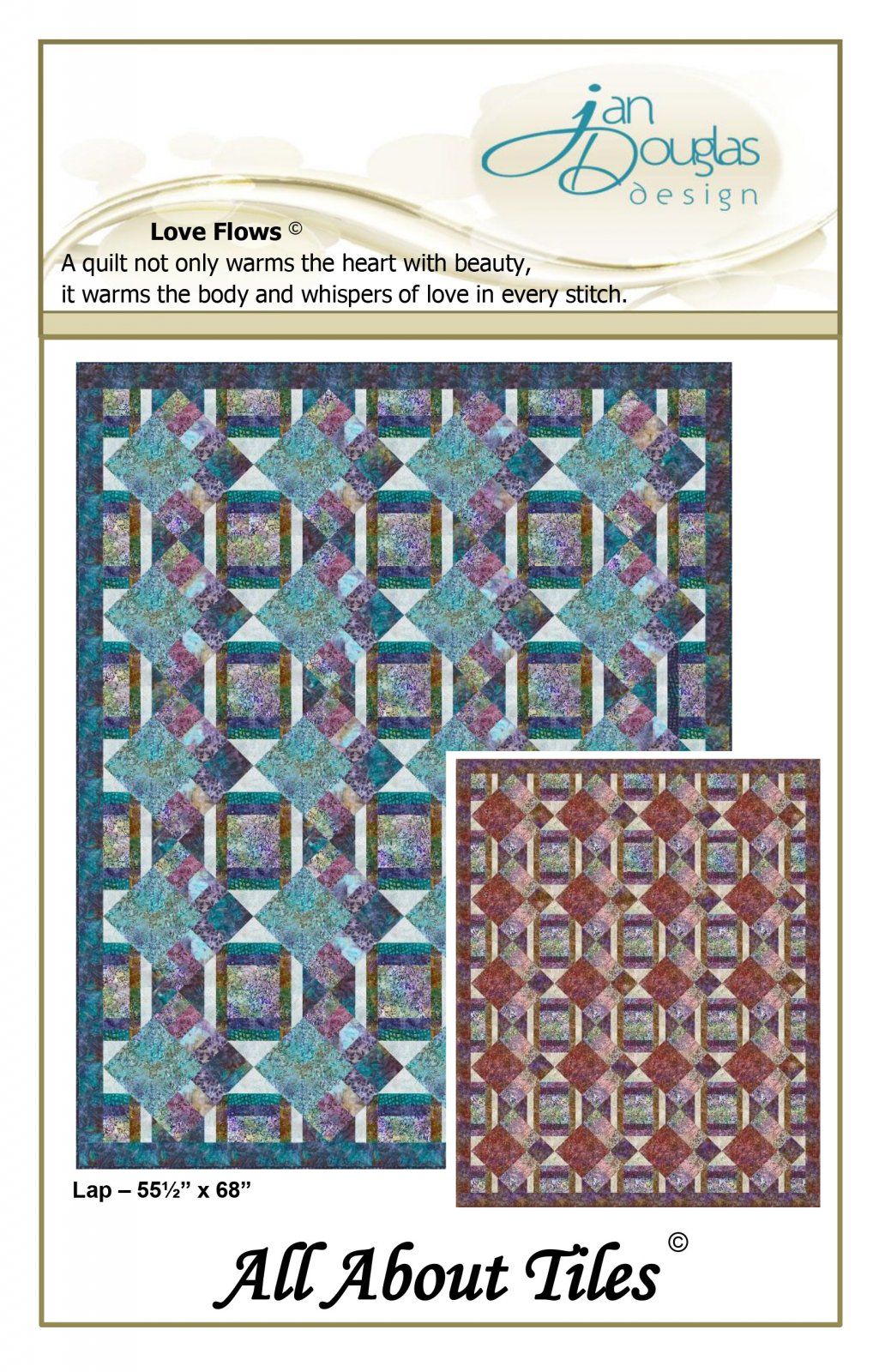 All About Tiles Pattern (Kits Available)